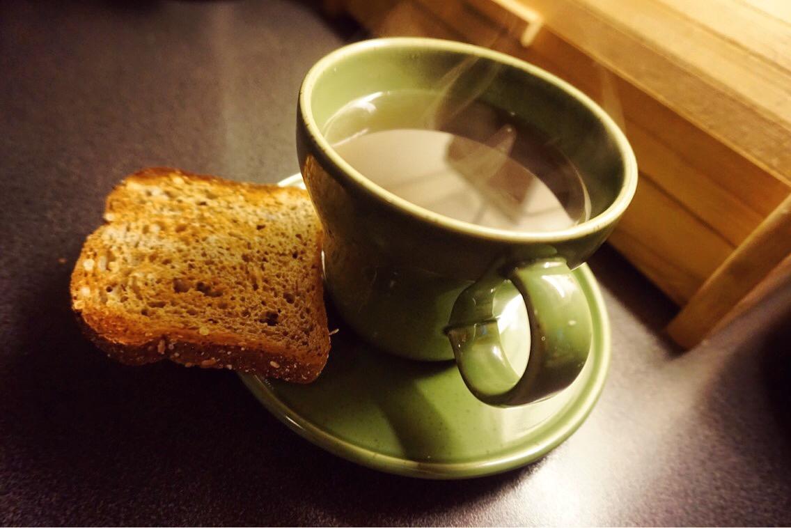 rostat bröd bra för magen